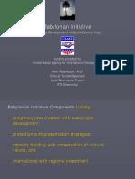 Rosenbaum Babylonian InitiativeBabylonian Initiative Presentation