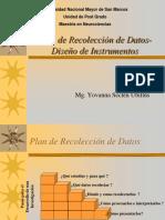Plan de Recolección de Datos-Diseño de Instrumentos