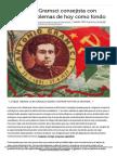 FERNÁNDEZ BUEY, Francisco (2016) Notas Sobre Gramsci Consejista Con Algunos Problemas de Hoy Como Fondo