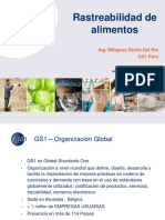 Rastreabilidad Alimentos (ISO 22005)