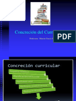 1.- Concreción Curricular