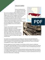 Departamentos Más Afectados Por El Conflicto Armado en Guatemala
