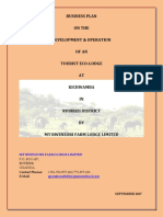 Mt Rwenzori Farm Lodge Business Plan Merged File