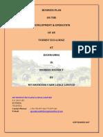 Mt Rwenzori Farm Lodge Business Plan Merged File