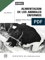Alimentacion de Animales Enfermos