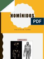 La Evo Luci on Del Hombre