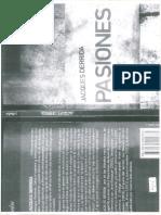 Derrida - Pasiones - Artículo III