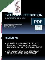 Evolución Prebiótica