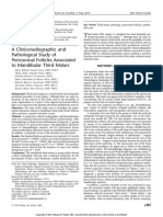 A Clinicoradiographic and Pathological Study of Pericoronal Follicles Associated to Mandibular Third Molars