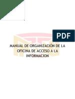 Manual de Organizacion de OAI