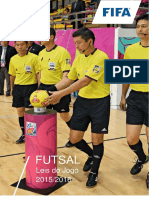 Leis Do Jogo de Futsal 2015 - 2016