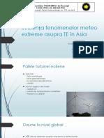 Influenta Fenomenelor Extreme Asupra TE in ASIA_MS9