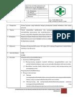 8.5.2.5 Sop Pemantauan Pelaksanaan Kebijakan Dan Prosedur Penanganan Limbah Berbahaya
