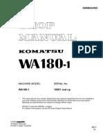 Komatsu Wa180-1-1-40