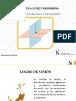 Sesión 9_Planos Euclidiano y Sus Ecuaciones