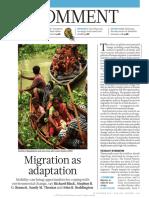 Migration as Adaptation