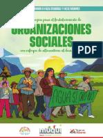 Metodología para el fortalecimiento de Organizaciones sociales con enfoque de Alternativas al Desarrollo