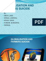 Globalisation and Farmers Suicide
