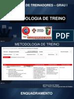 Metodologia Do Treino de Futebol - Tema 1
