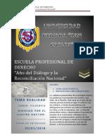 Escuela Profesional de Derecho
