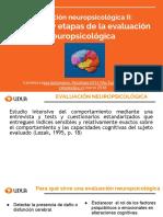 Ev. Neurops II Clase 2 Objetivos y Etapas