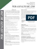 Asfalto RC-250