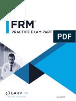 FRM Part1 2018 Practice Test