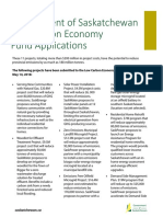 Low Carbon Economy Fund Applications Fact Sheet