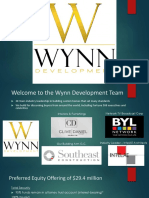 Wynn Development Webinar Overview