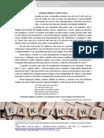 Cidadania Digital e Notícias Falsas