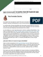 Agua Embotellada - Los Puntos Clave Del Fraude Del Siglo Opinió-En Rt