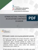 1 Estado y Proyección de La Acuicultura Ecuatoriana Alejandro de La Roche