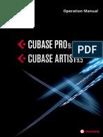 Cubase Pro Artist 9 5 Operation Manual En