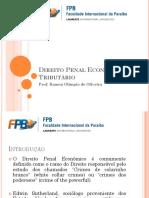 Direito Penal Econômico e Tributário