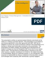 SAP Mentor Webinar - SAP BusinessObjects Web Intelligence