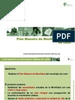 Plan de Movilidad Municipal 2009