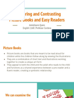 midterm  comparing   contrasting picture books and easy readers  2