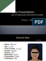 Presentation Format From Prof. Eddie Lai 2018-03-24