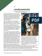 Horrible Hundred 2018 Full Report
