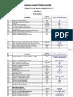Data Sheet Turbine & Aux