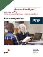 Re Pwc Transformacion Digital en Las Ong