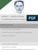 MORFOLOGÍA DEL ROSTRO Y SUS CORRECCIONES
