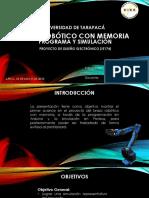 Presentación de Programa y Simulación de Diseño Electrónico