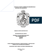 Habeas Corpus Monografia