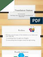 the translation station
