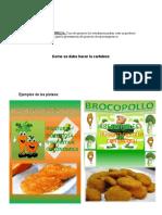 Ejemplos de Proyectos Socio Productivo- Microempresa