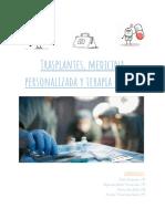 Transplantes, Medicina Personalizada y Terapia Génica