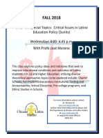 CHLS 490 Critical Issues in Education JM2184