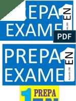 La Prepa en Un Examen