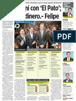 15-05-18 Sí me reuní con 'El Pato'; no ofrecí dinero.- Felipe